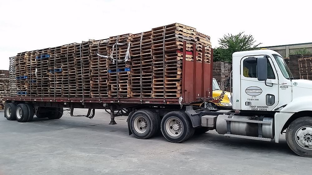 We Buy Back Used Pallets – AAA Pallet Company