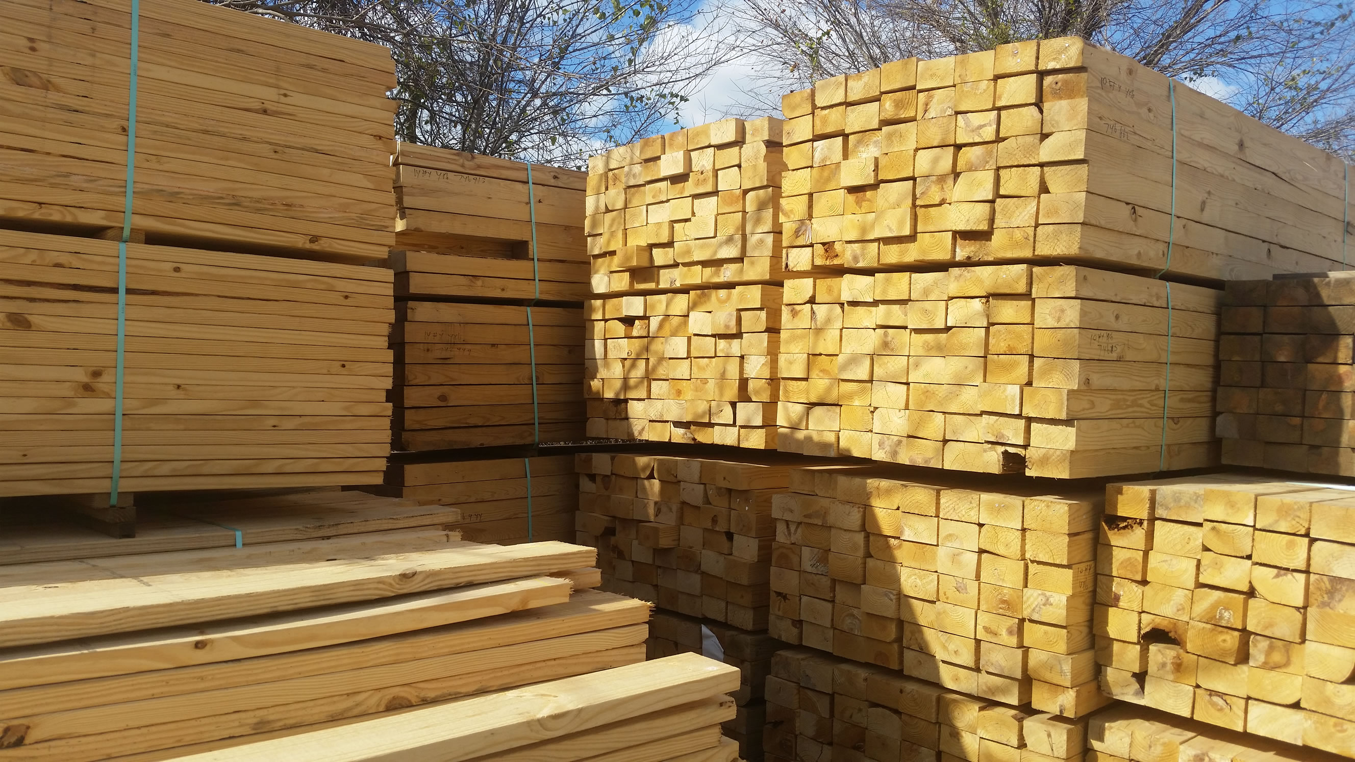 Lumber Yard located in Carlos carrying all building product needed for home improvement or new construction. From Simpson joist hangers to decking, we have every wood product needed for the home improvement project.